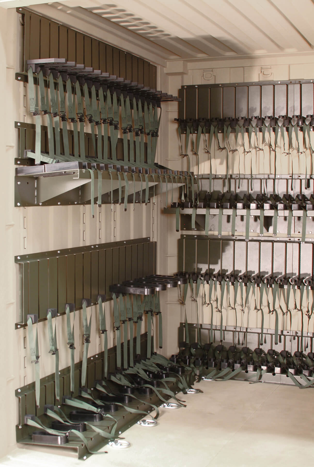 Many weapon configurations for the Universal Expeditionary Weapons storage system