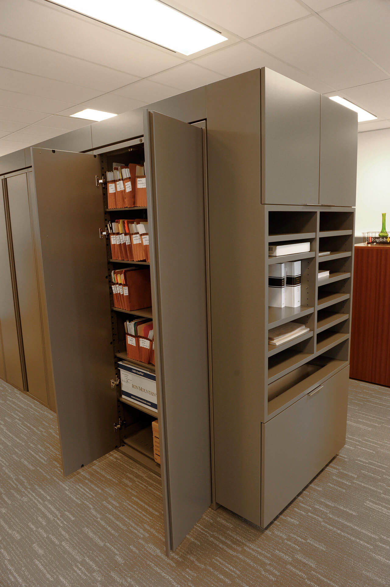 Office Storage Solutions - Spacesaver Storage Solutions