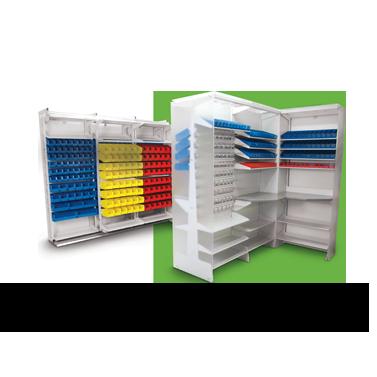 FrameWRX Modular bin storage