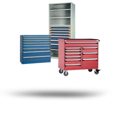 Rousseau Modular cabinet storage