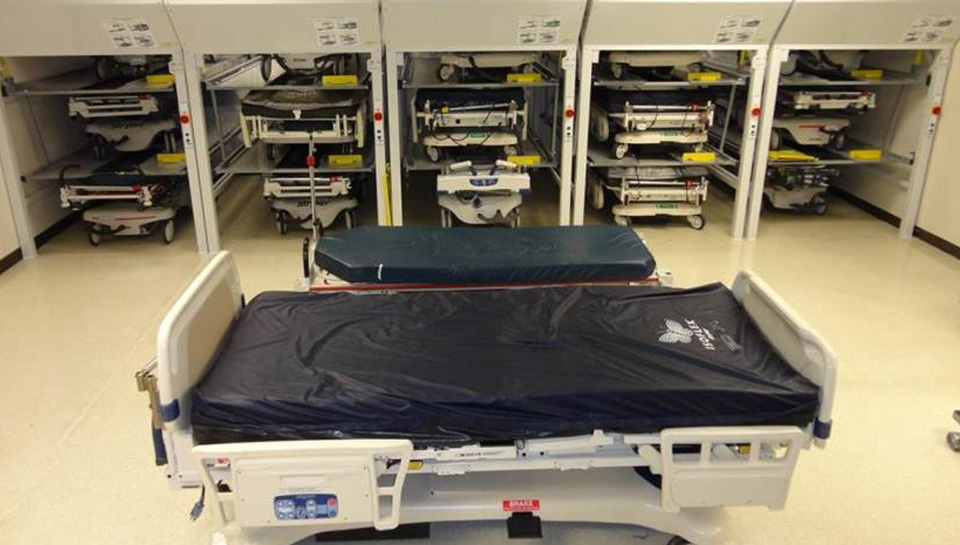 Multiple Hospital Bed Lifts