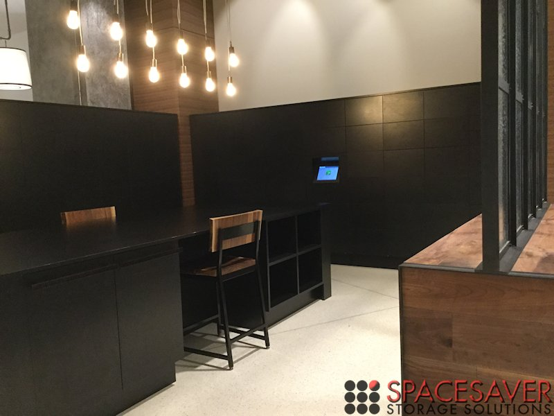 Spacesaver Storage Solutions Custom Designed Mail Center