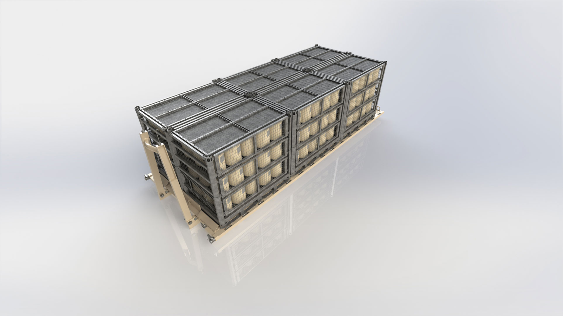 Deployable Hazmat Materials Storage