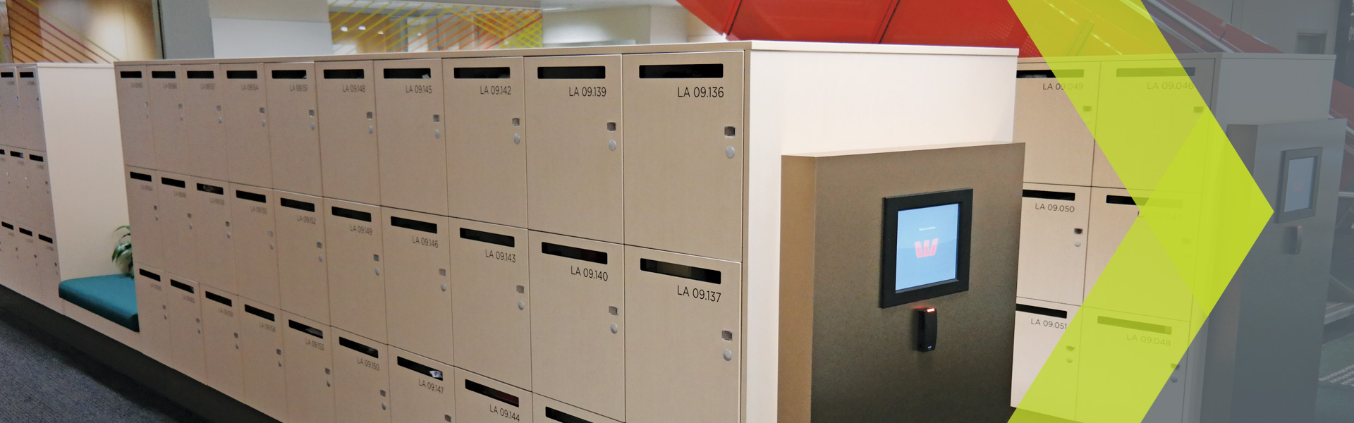 Smart Day Lockers for College Students