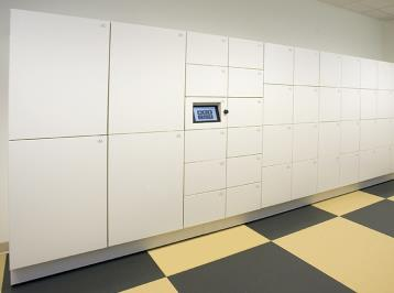 Smart Locker installation in work place