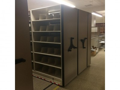 Spacesaver Storage Solutions installed Mobile System at local courthouse
