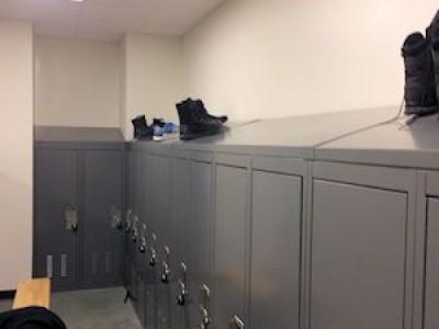 Campus Police Lockers