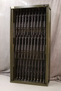 Weapon Rack – 84 inch long guns storage