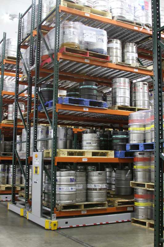 Storing large kegs in Cold storage