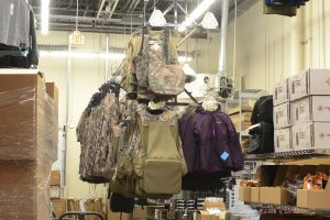 Backroom Clothing Storage for Retail