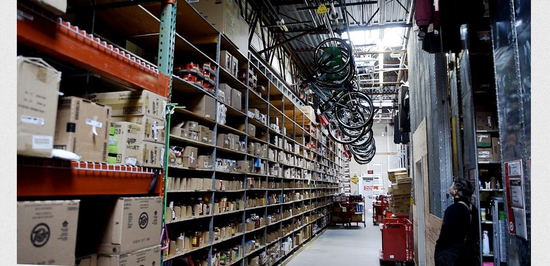 Retail Bike Storage System