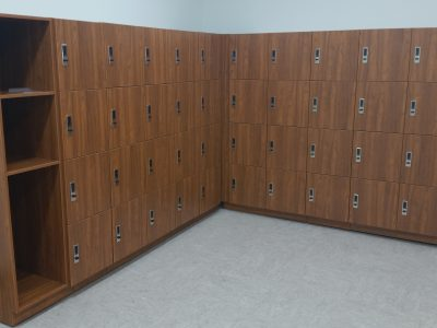Government mail lockers for employees