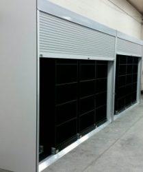 Bi-File Door