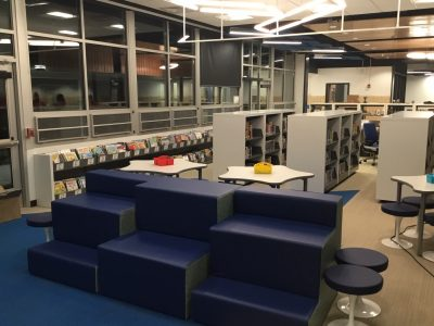 Spacesaver Storage Solutions helps upgrade Crestview Elementary Library