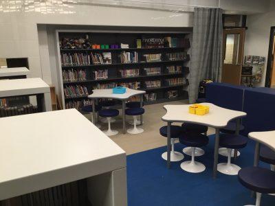 Library Shelves for books