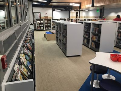 Improving the look and capacity of elementary school library