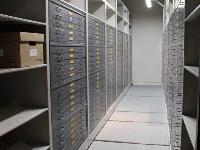 Spacesaver Museum Storage