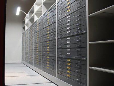 Museum Storage drawers