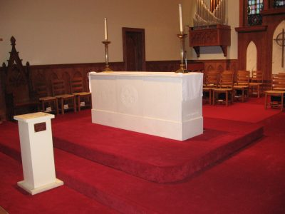 Mobile Carriage System helps move Heavy Church Altar