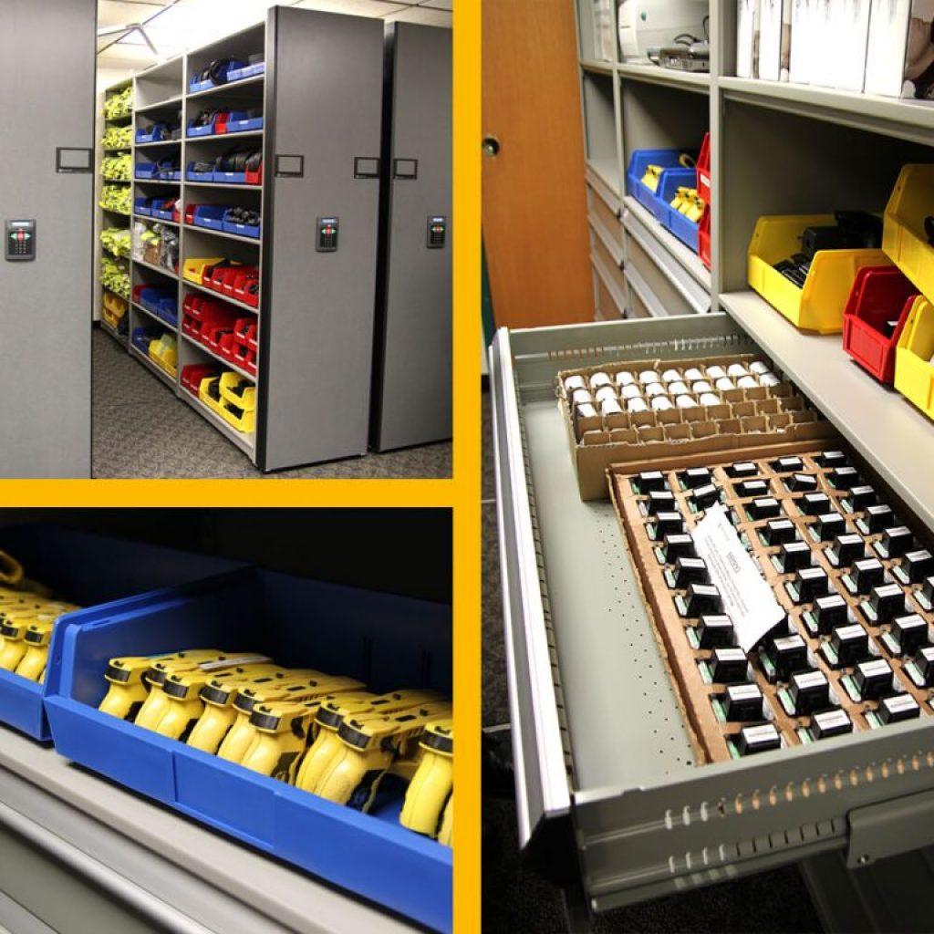 Taser Storage