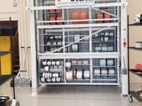 Vidir Wire Spool Rack Storage