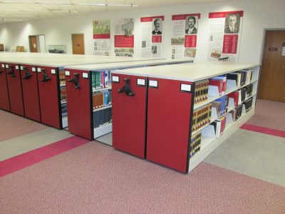 Compact Shelving for College Libra