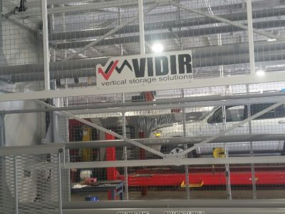 Vidir Vertical Tire Carousel Storage Solution increases work place safety