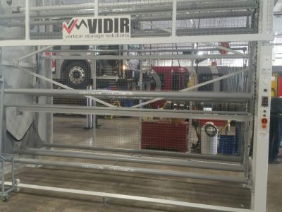 Vidir Tire Vertical Carousel in action
