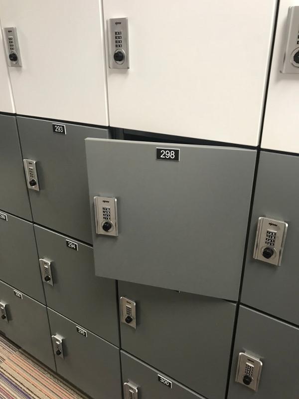 Secure Office Locker Storage