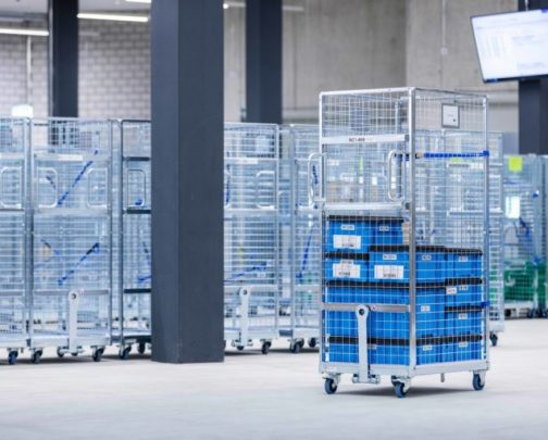 Specialized order picking carts