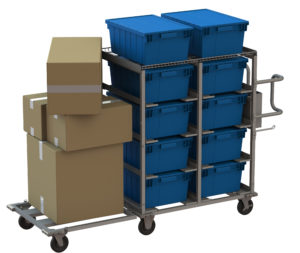 Multi-type box transport