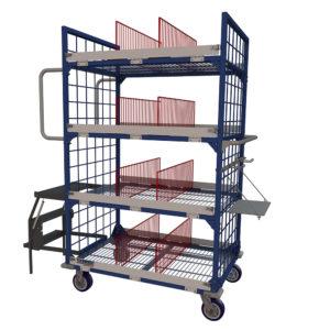 Order Picking Transport Cart