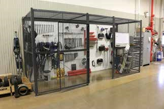 Tool Cage to keep tools safe when not in use