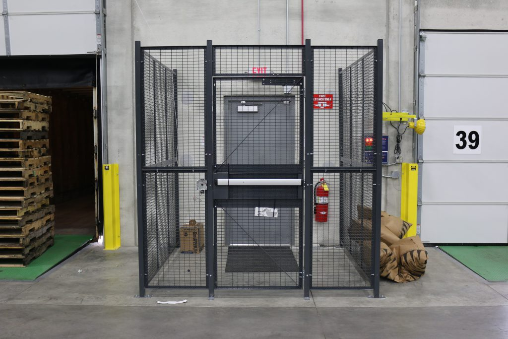 Stockroom Driver Cage