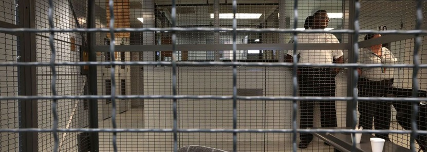 Holding cells