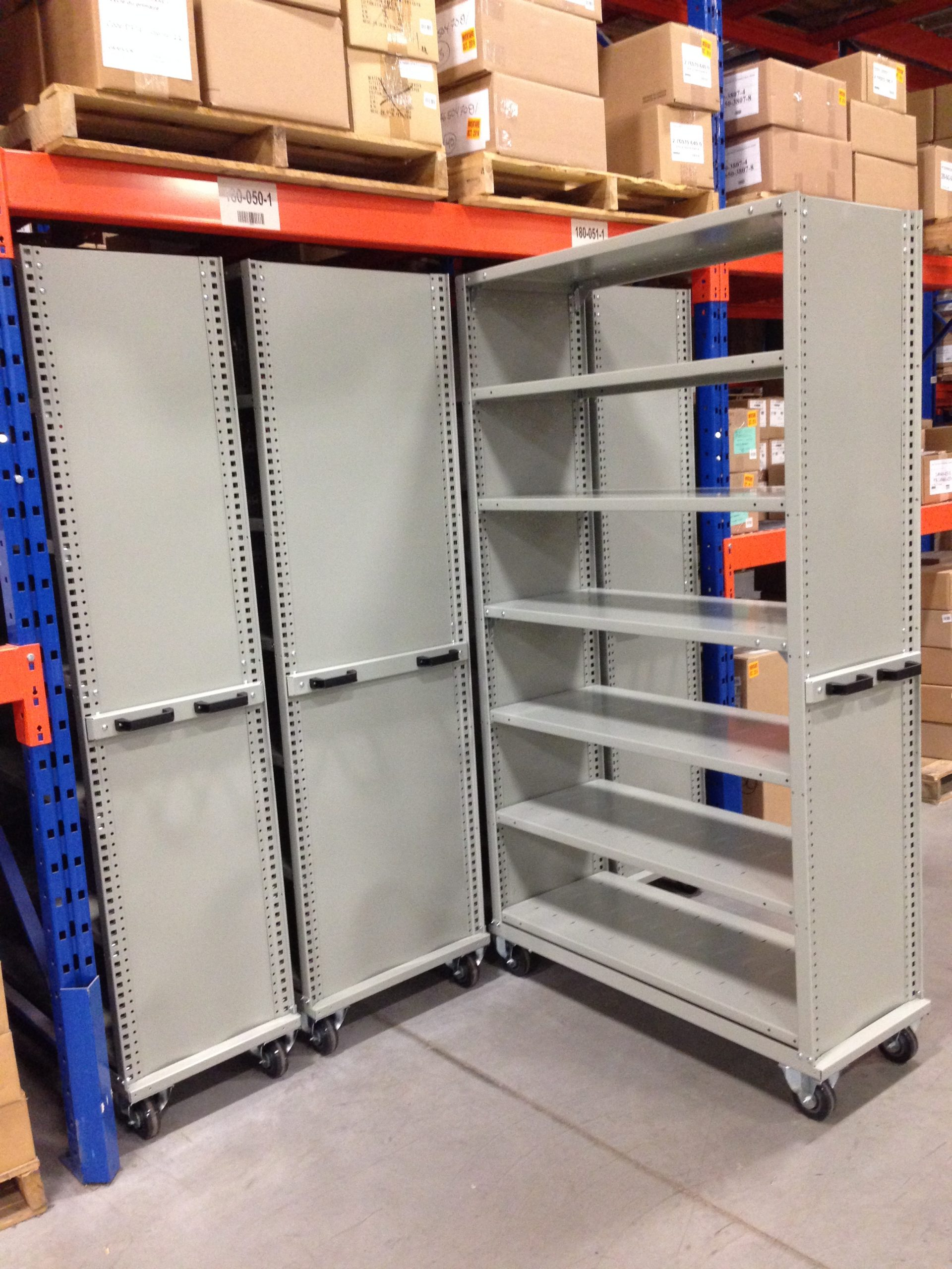 Rousseau Mobile Shelving