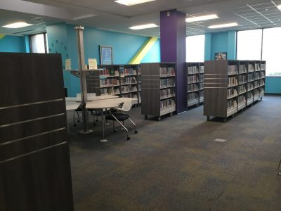 VA Beach Library Shelving