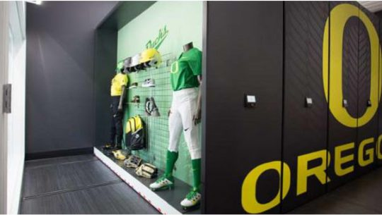 Oregon Duck's mobile storage system