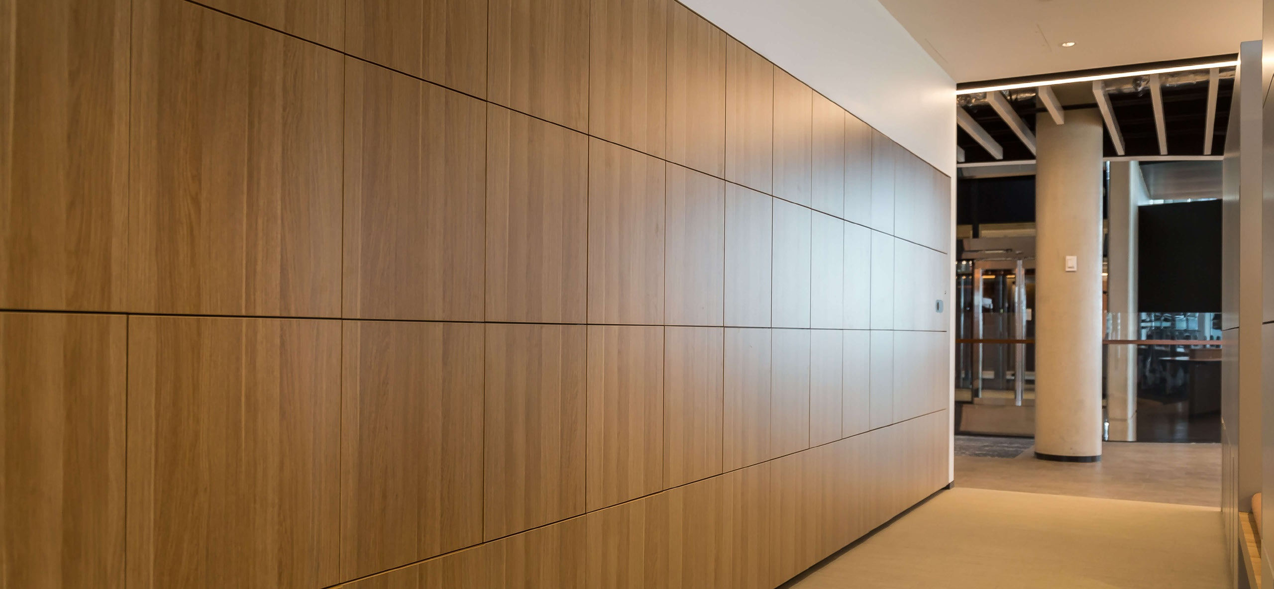 Touchless Lockers that match office decor