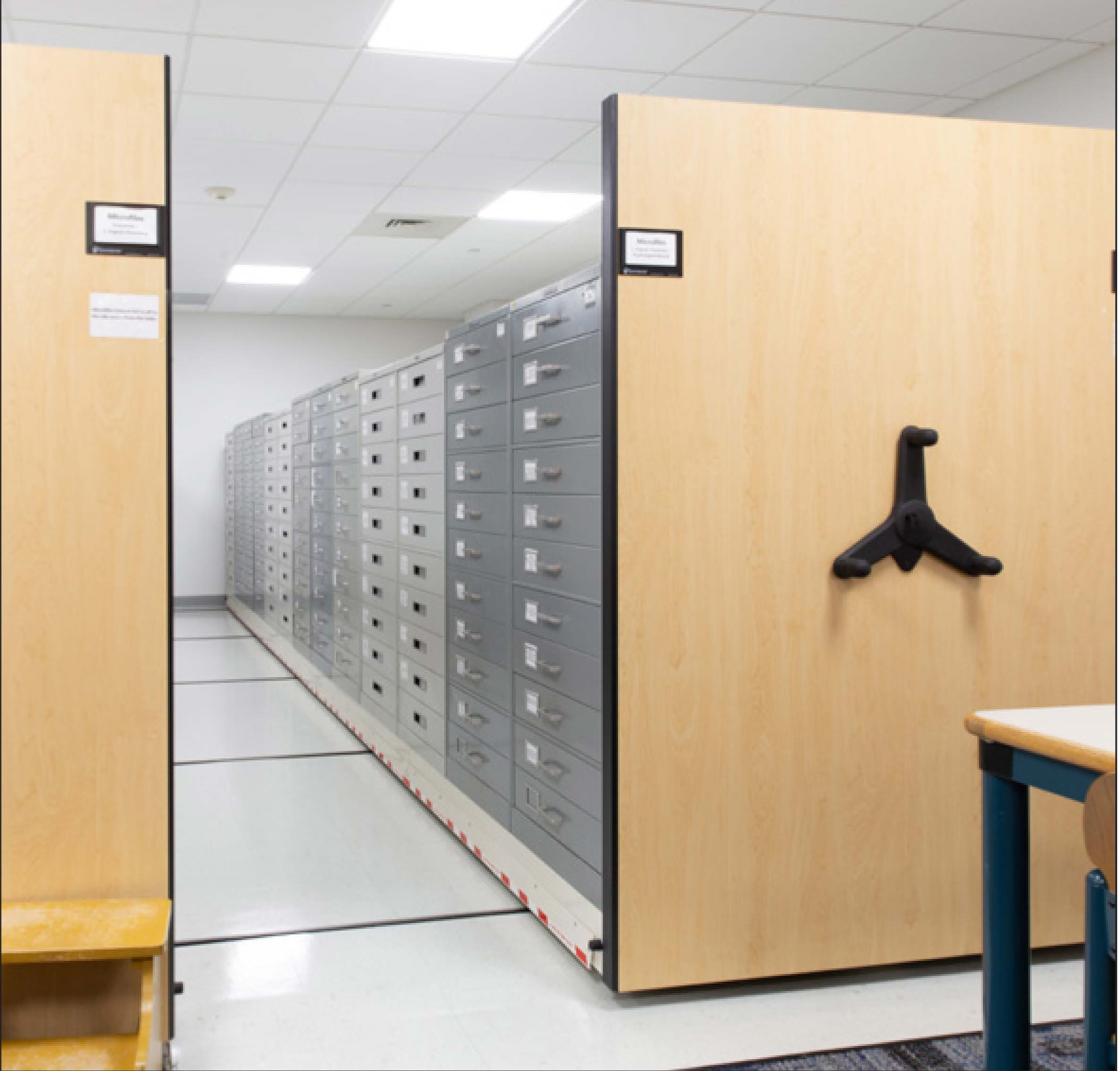 Mobile Storage for Library Allowed Makerspace