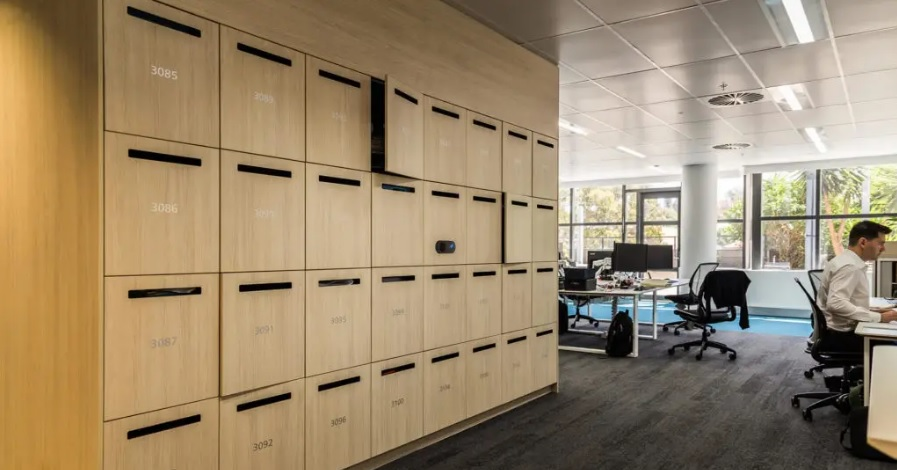 Touchless Lockers