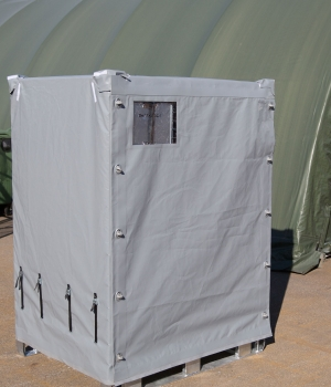Deployment Locker Covered in the Field