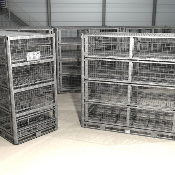 Deployable Military Containers in Garrison Storage