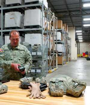 Military Warehouse Storage