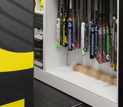 Softball Bat Storage