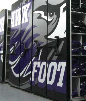 College Football Storage
