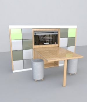 Day Lockers with table