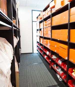 Uniform Shoe Storage