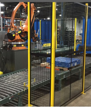 The purpose of machine guarding is to protect the machine operator and other employees in the work area from hazards created by ingoing nip points, rotating parts, flying chips and sparks.