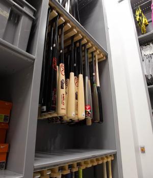 Softball Supply Storage